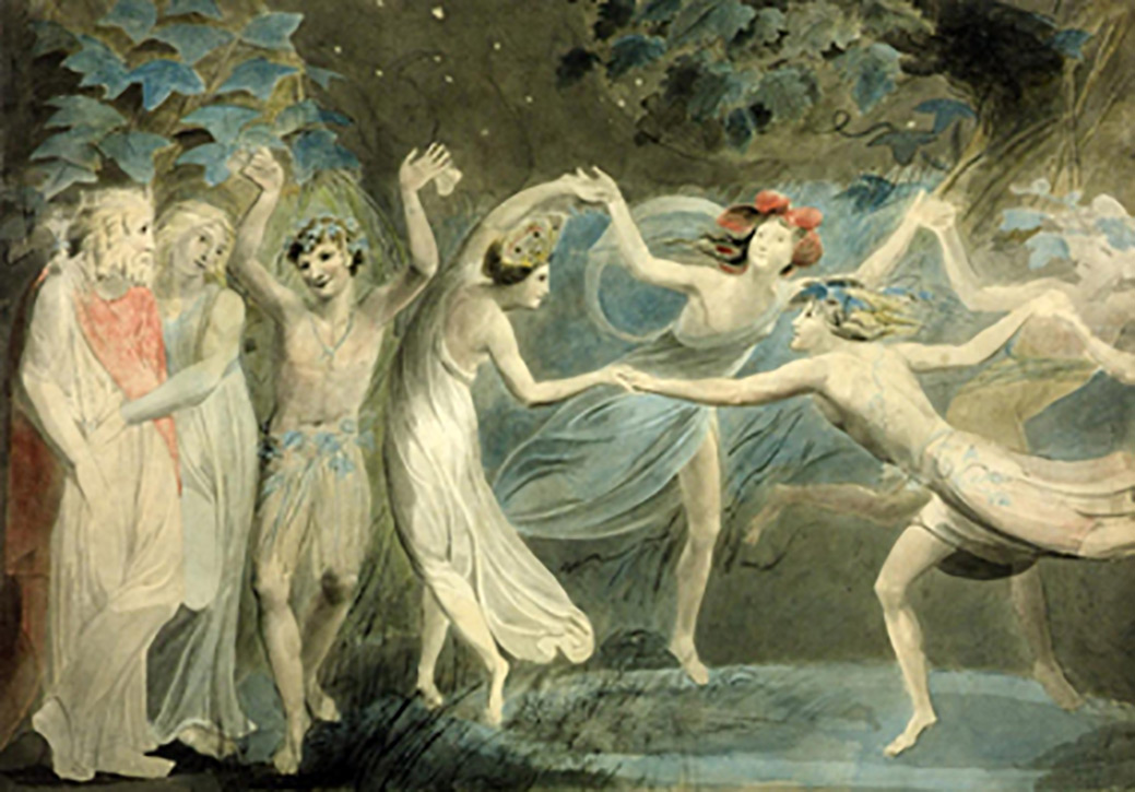 William Blake Fairies Dancing 1786